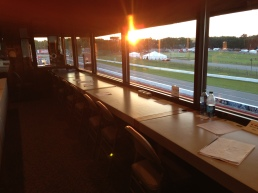 Another long day at the track