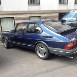 Nice Saab in Copenhagen