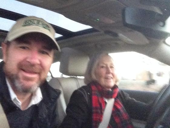 drive up w mom